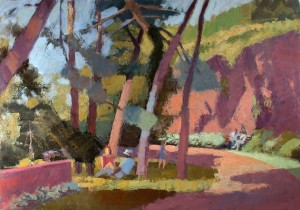 """""""Pine Grove, Fort Tryon"""" by Tony Serio"""