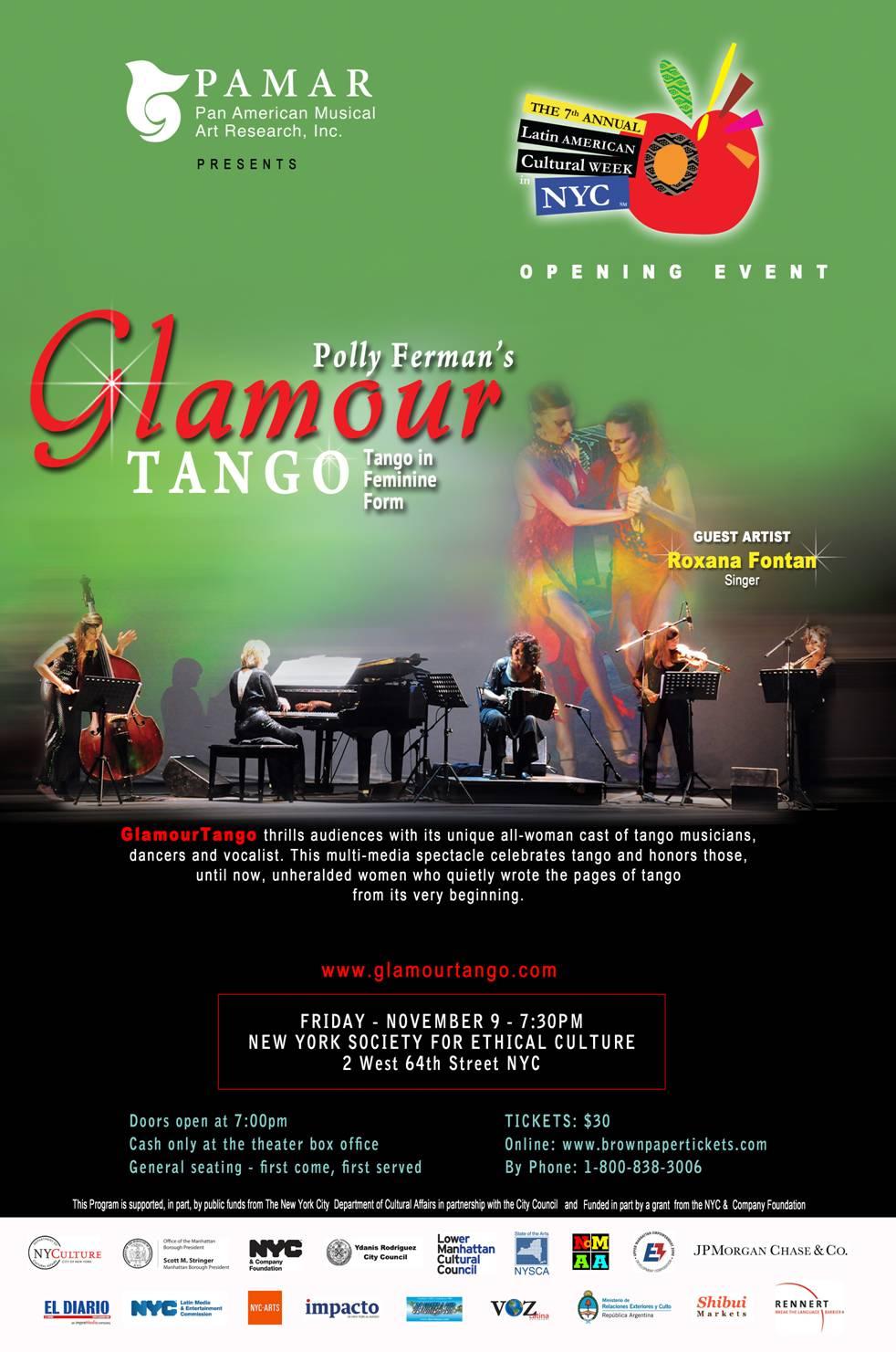 GlamourTango: Tango in Feminine Form