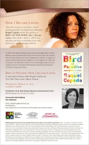 Raquel Cepeda: Bird Of Paradise (poster)