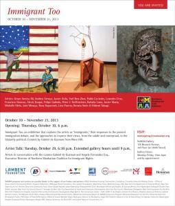NoMAA Gallery: Immigrant Too - Postcard
