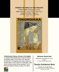 TokoNoMAA: Stories of Home in the Heights