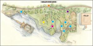 Ephemeral Arts Project 2014 - Map