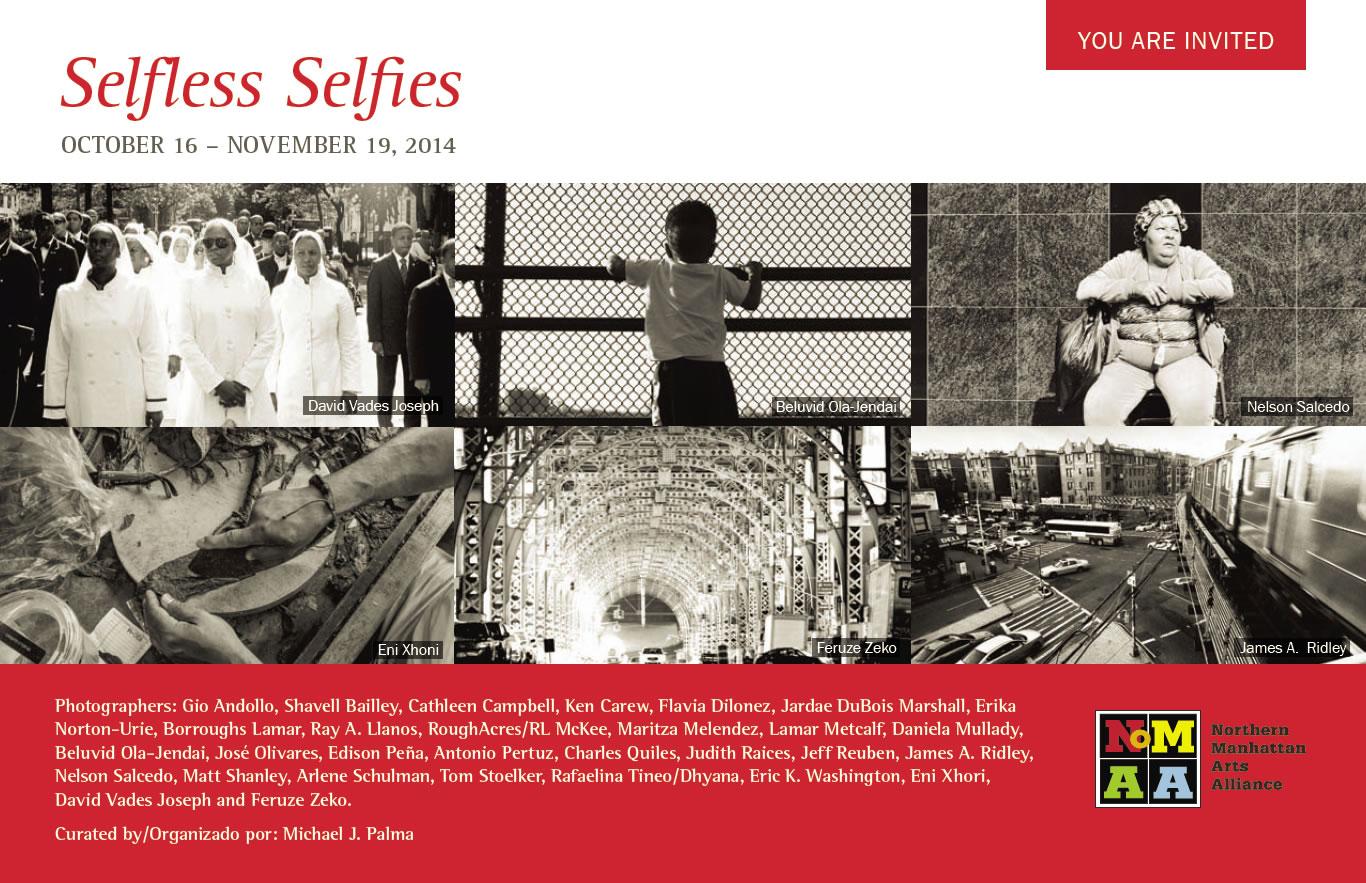 NoMAA Gallery: Selfless Selfies - postcard