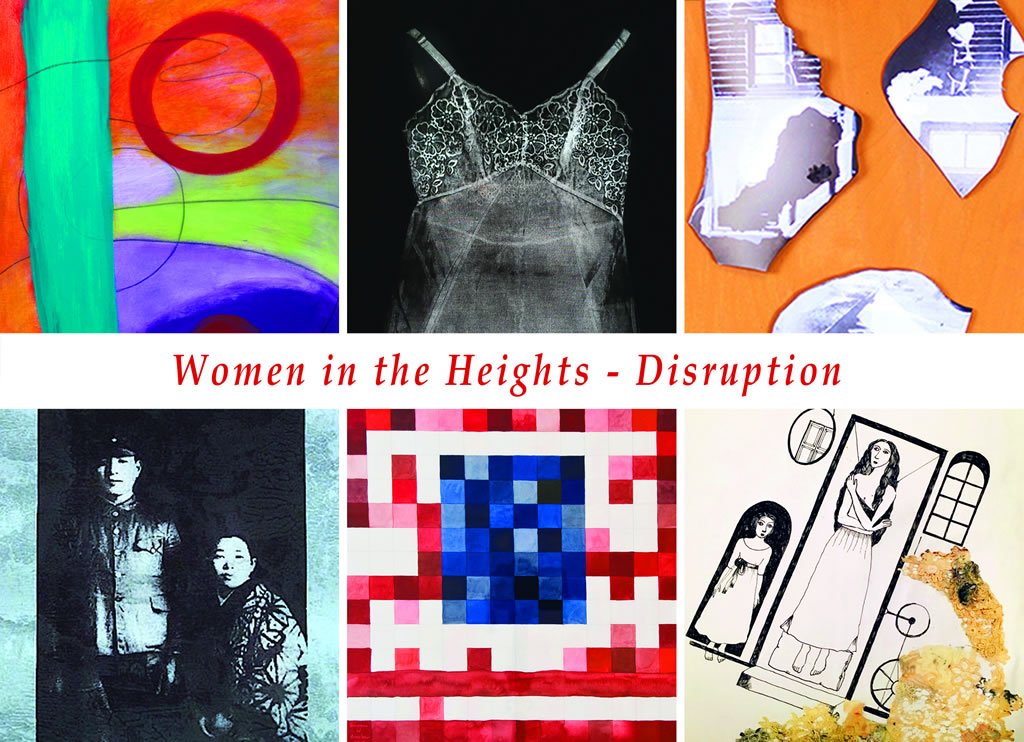 Women in the Heights 2017, postcard (front)