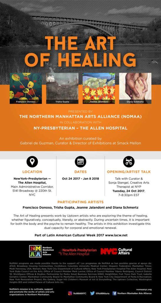 NoMAA exhibition: The Art of Healing – Northern Manhattan Arts Alliance
