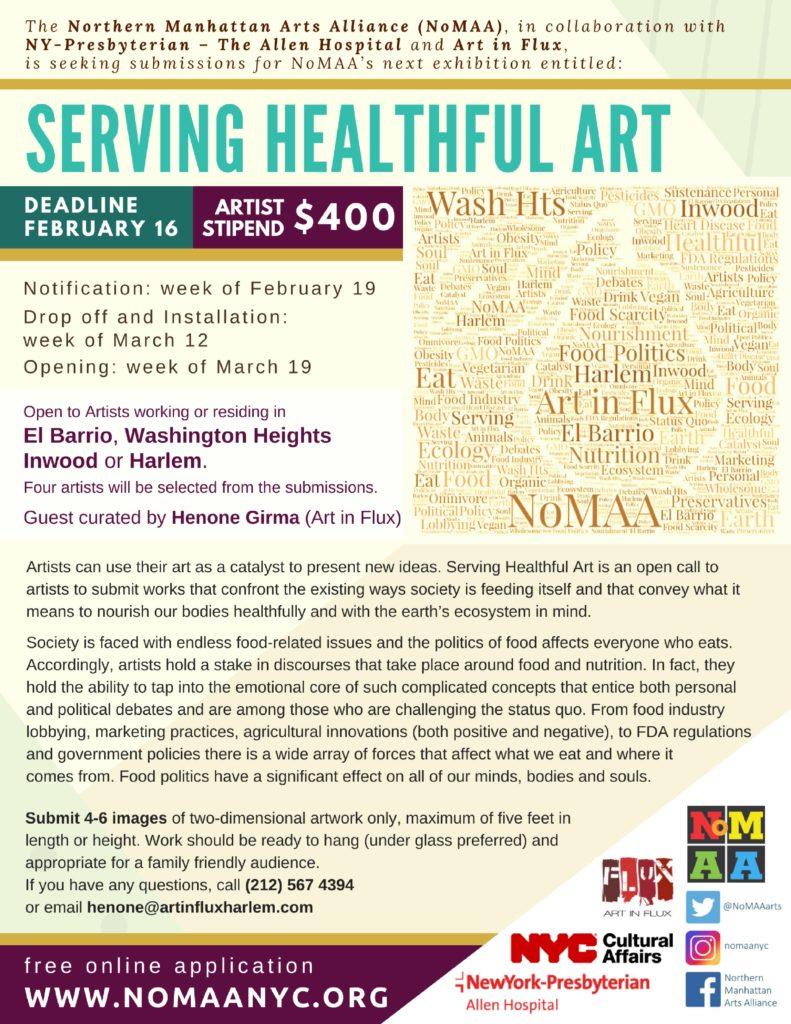 Serving Healthful Art