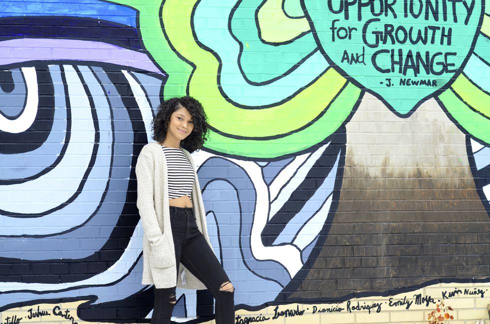 Mural Unidad en progreso