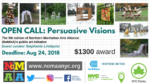 "Call for ""Persuasive Visions"""