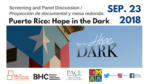 Puerto Rico: Hope in the Dark – screening and panel discussion