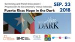 Puerto Rico: Hope in the Dark - proyección y panel de discusión