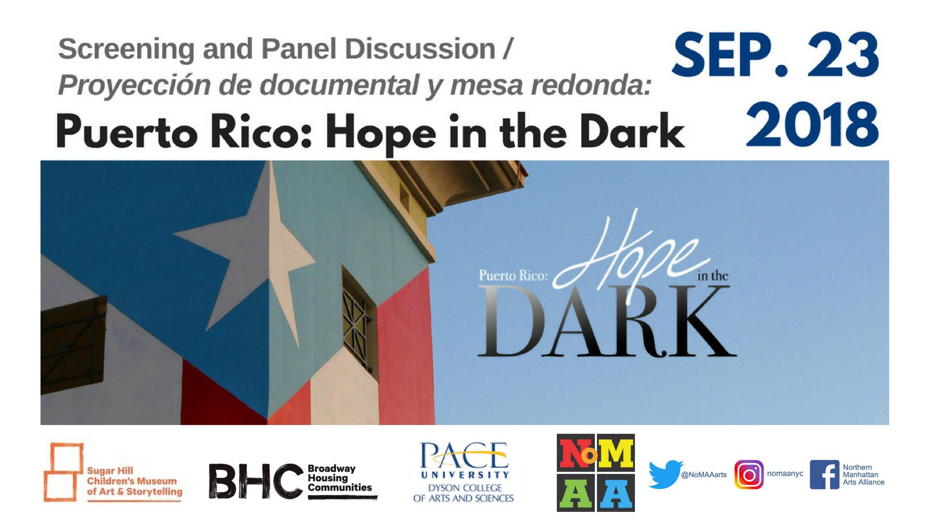 Puerto Rico: Hope in the Dark – screening and panel