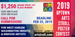 2019 Uptown Arts Stroll Poster Contest