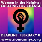 OPEN CALL – Women in the Heights: Creating for Change