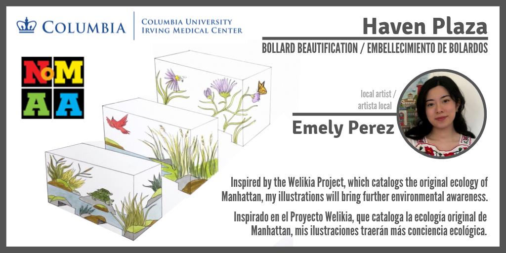 (English) Haven Plaza Bollard Beautification Project