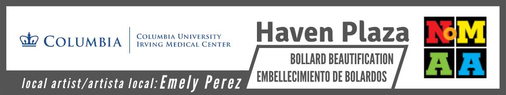 Proyecto de embellecimiento del bolardo Haven Plaza de Emely Perez
