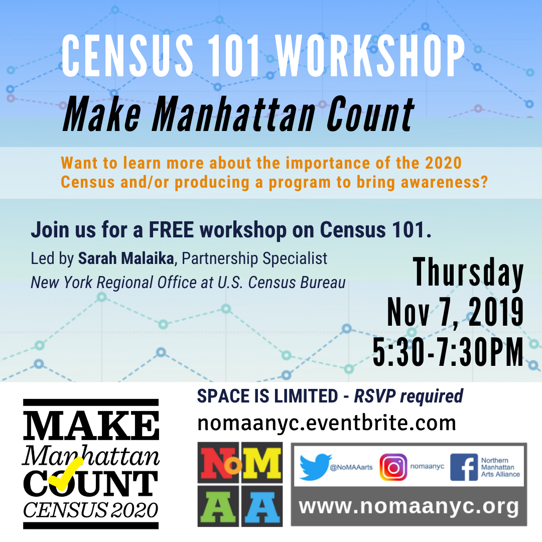 (English) CENSUS 101 WORKSHOP – Make Manhattan Count