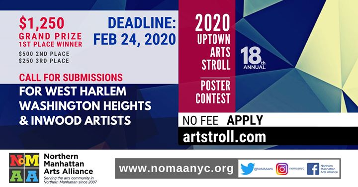 2020 Uptown Arts Stroll Poster Contest