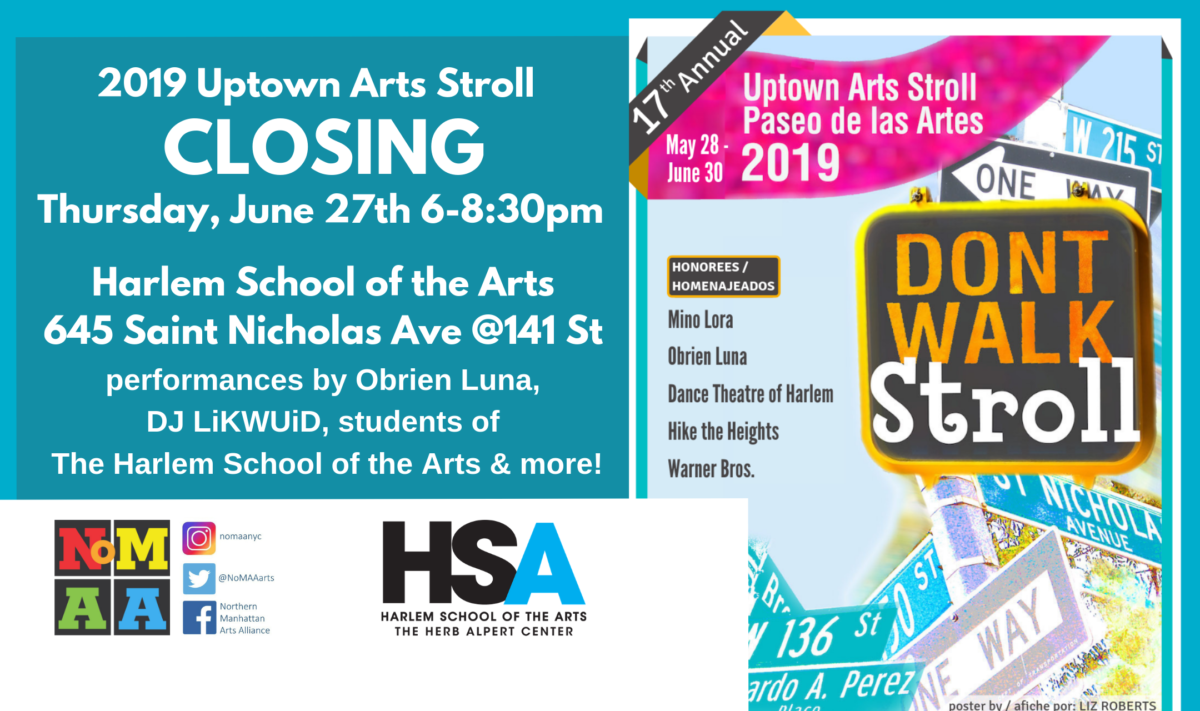 (English) 2019 Uptown Arts Stroll Closing
