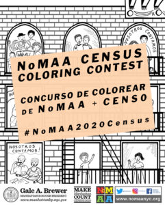 NoMAA 2020 Census Coloring Contest