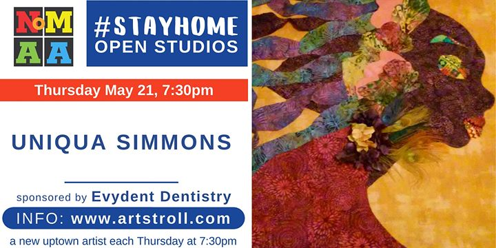 #StayHomeOpenStudios with Uniqua Simmons
