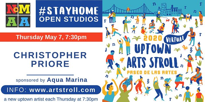 NoMAA's #StayHomeOpenStudios with Christopher Priore