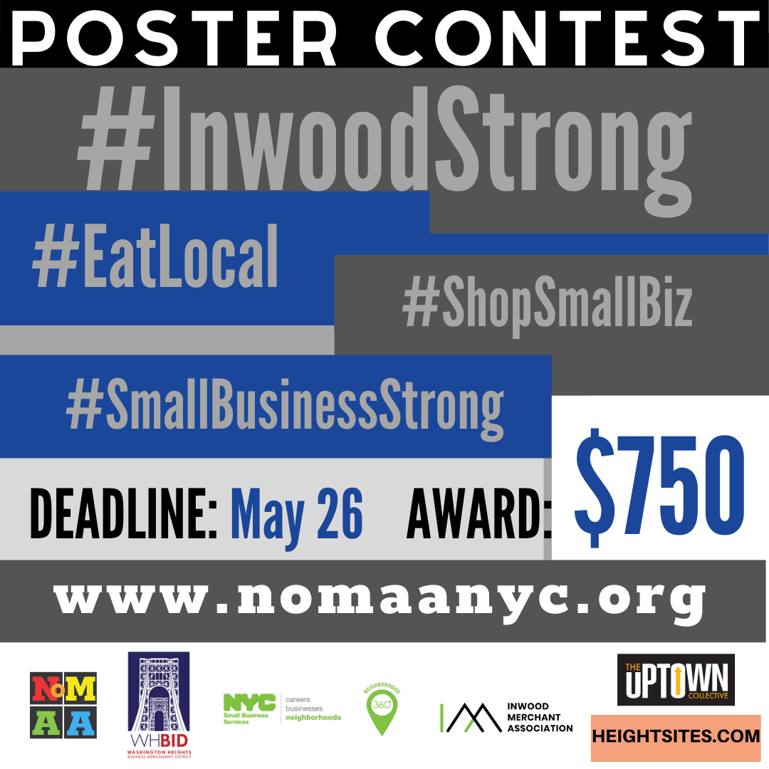 #InwoodStrong restaurant poster contest