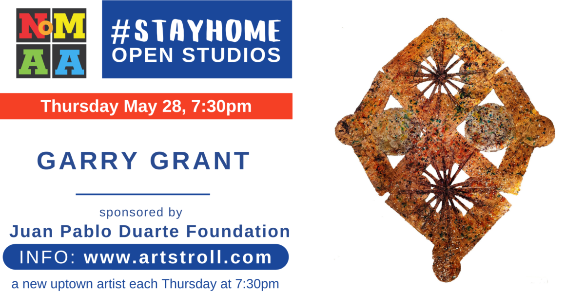 #StayHomeOpenStudios with Garry Grant