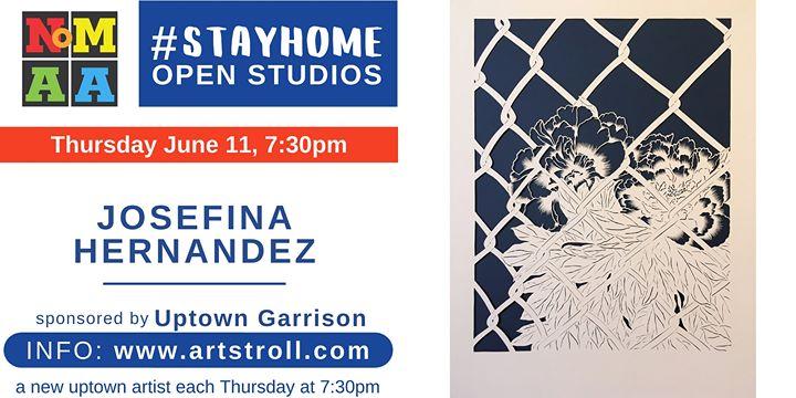 #StayHomeOpenStudios with Josefina Hernandez