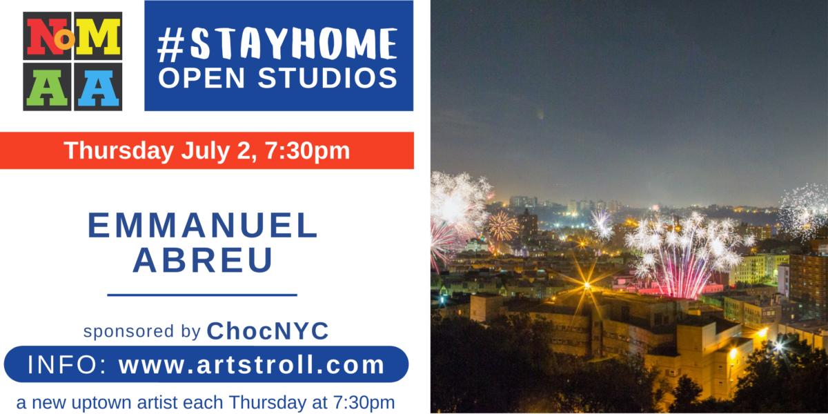 NoMAA's #StayHomeOpenStudios with Emmanuel Abreu