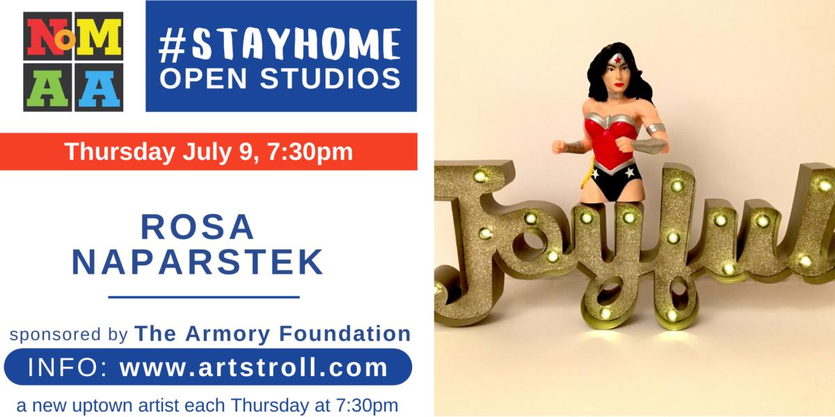 #StayHomeOpenStudios with Rosa Naparstek
