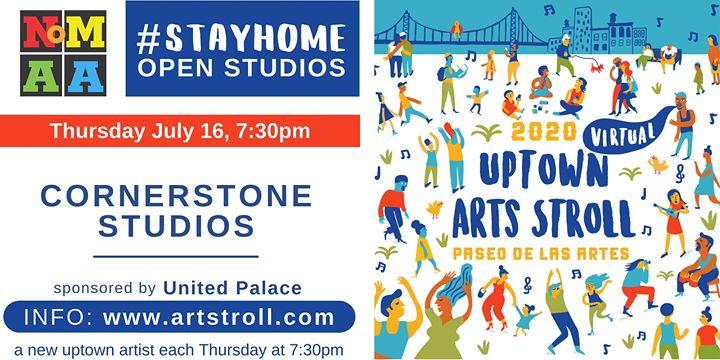 #StayHomeOpenStudios with cornerstone STUDIOS