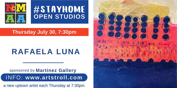 NoMAA's #StayHomeOpenStudios with Rafaela Luna