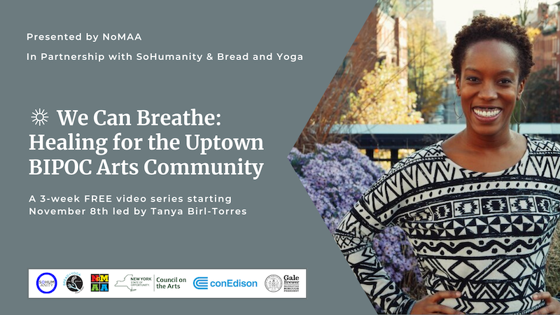 NoMAA's Technical Assistance 2020 – We Can Breathe: Healing for the BIPOC Uptown Arts Community