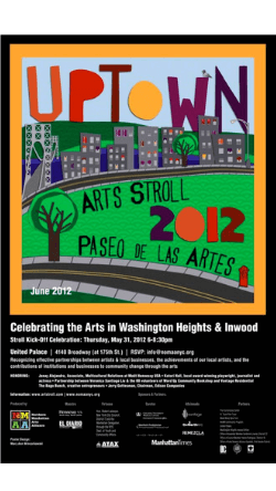 View the 2012 Uptown Arts Stroll Guide