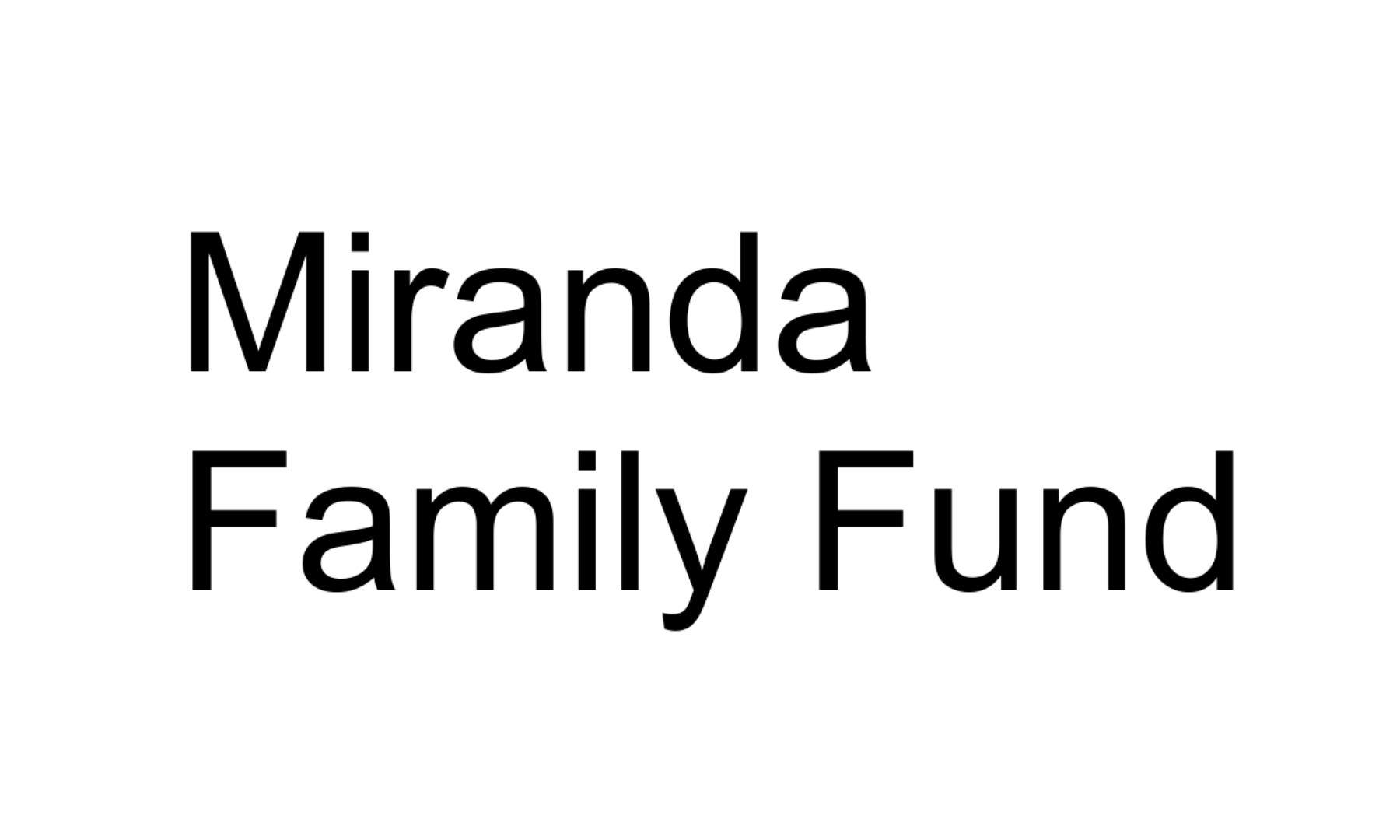MirandaFamilyFund