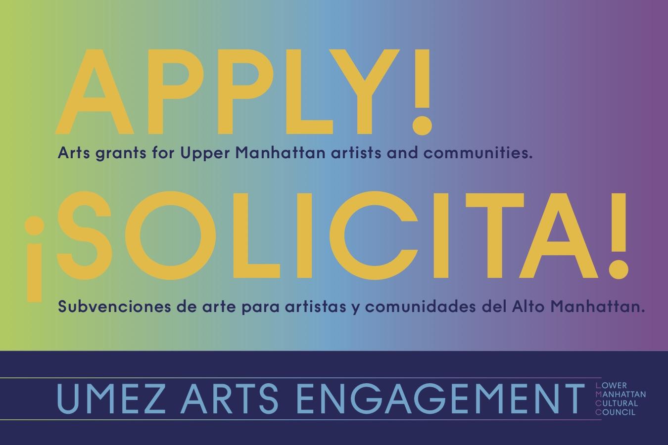 LMCC: Creative Engagement & UMEZ Arts Engagement
